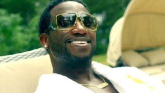 Gucci Mane And Young Dolph Party It Up With Vampires In The 'Bling Blaww Burr' Video