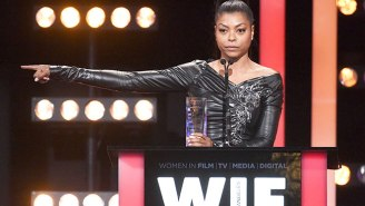 Taraji P. Henson Gets Emotional Discussing The Impact Of The Women Behind 'Hidden Figures'