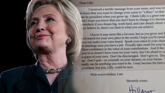 Hillary Clinton's Response To A Girl Who Wants Her Name To Be 'Lillary' Offers A Dose Of Real Inspiration