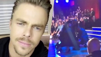 Derek Hough Calls Out The 'Cowards' Who Protested Ryan Lochte On 'Dancing With The Stars'