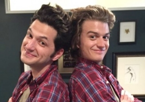 Finally, Steve From 'Stranger Things' Meets His Son Jean-Ralphio
