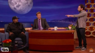 'Second Banana' Charlie Day Interrupts Ice Cube's 'Conan' Appearance