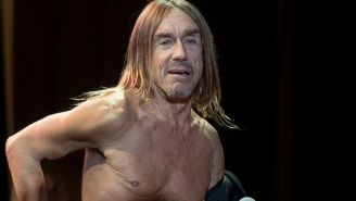 Iggy Pop's Weird, Old Naked Body Is Officially High Art
