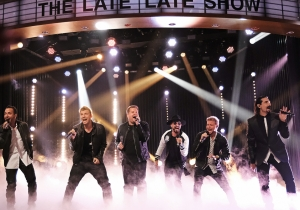 Watch James Corden sing (and dance!) with The Backstreet Boys