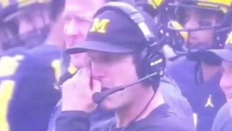 Jim Harbaugh Says He Has Never Eaten A Booger Even Though He Ate A Booger On Saturday
