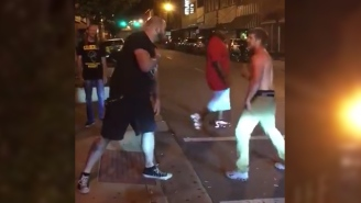 This Video Shows Why You Shouldn't Try To Punch A Bouncer Who Is Also An MMA Fighter
