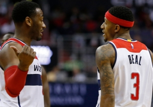 John Wall And Bradley Beal Could Reportedly Be Available In Trade Talks With The Struggling Wizards