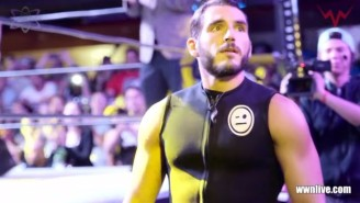 Watch As Johnny Gargano Gives An Emotional Goodbye To Independent Wrestling