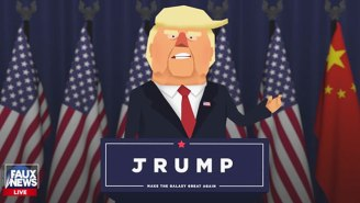 A New Mobile Game Takes A Satirical Look At The World If Donald Trump Wins The Election