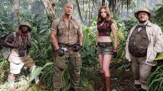The Rock's 'Jumanji' Looks Very Different Than The Original