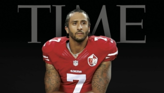 Colin Kaepernick Is Still Kneeling, This Time On The Cover Of 'Time' Magazine