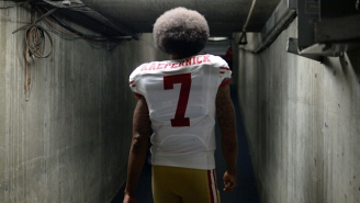 Colin Kaepernick's Jersey Sales Have Skyrocketed Since He Began His Protest