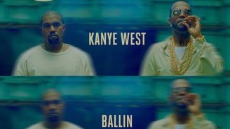 Juicy J And Kanye West Are 'Ballin' On Their New Track Together
