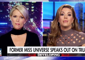 A Former Miss Universe Gets Frank With Megyn Kelly Over Trump's Weight Shaming: 'He's Not A Good Person'