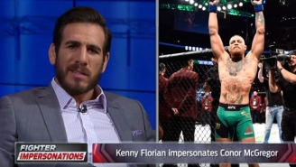 Kenny Florian's Profanity-Laced Conor McGregor Impression Is Perfect