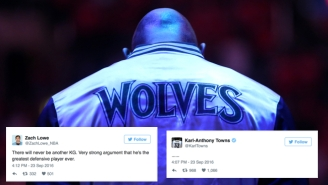 The NBA World Is Trying Hard To Come To Terms With Kevin Garnett's Retirement
