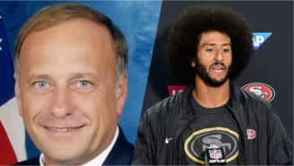 A Congressman Says Kaepernick's Kneeling Is 'Sympathetic To ISIS' In What Must Be The Worst Take Yet
