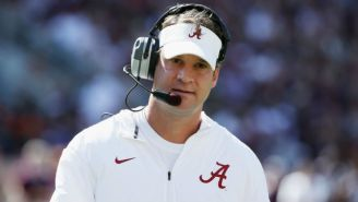 Lane Kiffin Couldn't Resist Taking A Shot At USC After Alabama Destroyed The Trojans