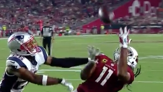 Larry Fitzgerald's 100th Career TD Was An Absolutely Ridiculous Catch