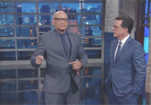 Larry Wilmore Decides To Try And Take Over 'The Late Show' For Stephen Colbert