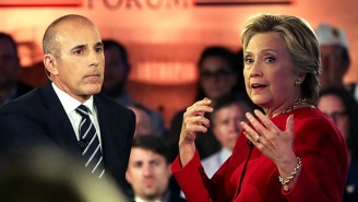A NY Times Editorial Demands Debate Moderators Not Be Painfully Terrible Like Matt Lauer