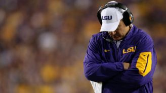 The Les Miles Era At LSU Is Over