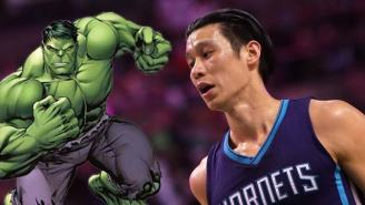 Jeremy Lin's Latest Non-Basketball Venture Is An Appearance In An Incredible Hulk Comic