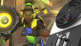 An 'Overwatch' Player Uses 'DJ Hero' Turntables To Control Lucio