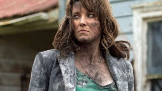 Oh my God! Lucy Lawless cut off her lucious 'Xena' locks and it looks amazing