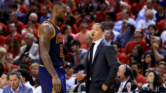 Cavaliers Head Coach Tyronn Lue Still Owes LeBron James $100