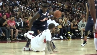 Rapper Mac Miller Tried, But This Streetball Legend Still Humiliated Him With This Crossover