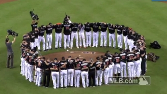 After Winning For Jose, The Marlins Shared One More Emotional Moment At The Mound