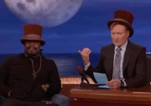 Marshawn Lynch Continues To Do Retirement Right By Becoming Willy Wonka On 'Conan'