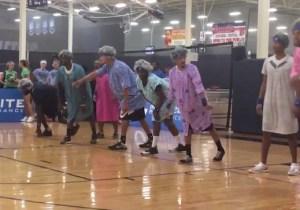 The Mavs Dressed As Goofy Geriatrics For Deron Williams' Charity Dodgeball Event