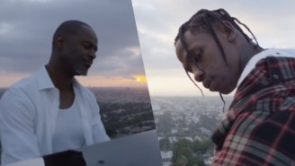 Travi$ Scott And Some Birds In The Trap Get Serenaded By Brian McKnight In New Clip