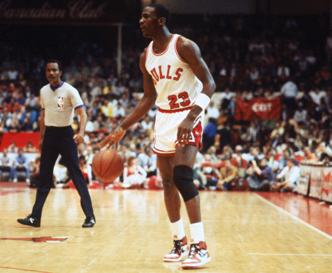 michael jordan air jordan 1 1985