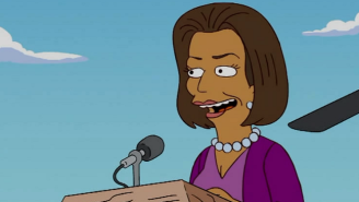 Michelle Obama Turned Down A Role On 'The Simpsons' In The Best Way Possible