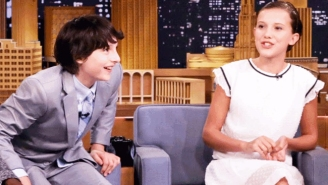 The Kids From 'Stranger Things' Talk About That Big Scene Between Mike And Eleven