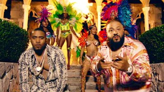 DJ Khaled And Nas Get Tropical In The Video For 'Nas Album Done'