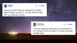 NASA Drops Sick Burns On Astrology While Talking About That 'New' Constellation