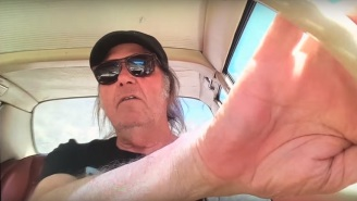 Neil Young Joins The Dakota Access Pipeline Protest With 'Indian Givers' Video