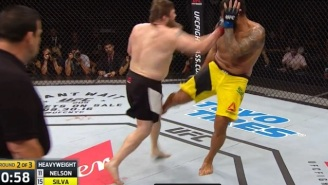 'Big Country' Roy Nelson Kicked 'Big' John McCarthy After His Big KO Over 'Bigfoot' Silva