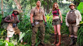 The Rock welcomes 'Jumanji' juniors to the cast