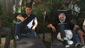Nick Diaz Continued His Spectacular Weed-Smoking Adventures With Tommy Chong
