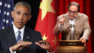 Oliver Stone Has His Doubts About Obama Pardoning Edward Snowden