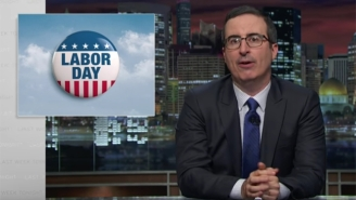 John Oliver Uses Labor Day As The Perfect Time To Introduce Some New Holiday Rules