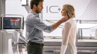 Chris Pratt and Jennifer Lawrence are falling in love and solving a space mystery in first 'Passengers' trailer