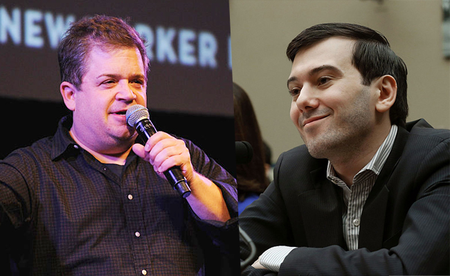 Martin Shkreli Trolled Patton Oswalt On Twitter And Failed