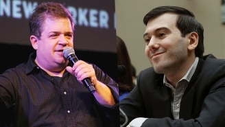 Martin Shkreli Attempted To Pick A Fight With Patton Oswalt On Twitter And Failed Miserably