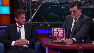 Sean Penn Thinks Electing Donald Trump Is Basically 'Masturbating Our Way Into Hell'